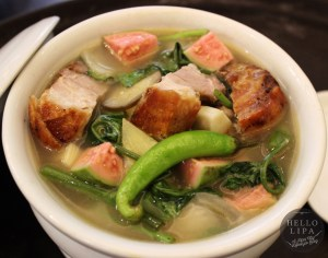 Sinigang na Lechon in Pineapple Guava