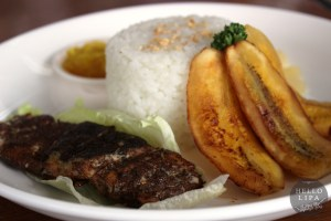 Bangus Belly with Mango Mint Sauce