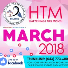 Mary Mediatrix Medical Center Celebrates International Women's Month with Events and Promos for Women