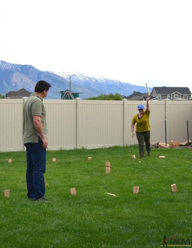 Diy Giant Lawn Games