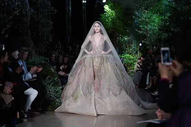 The Best Wedding Dresses From Paris Haute Couture Week