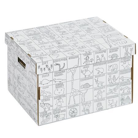 pappkarton zum anmalen für kinder von nurie aus japan, 23,90 €