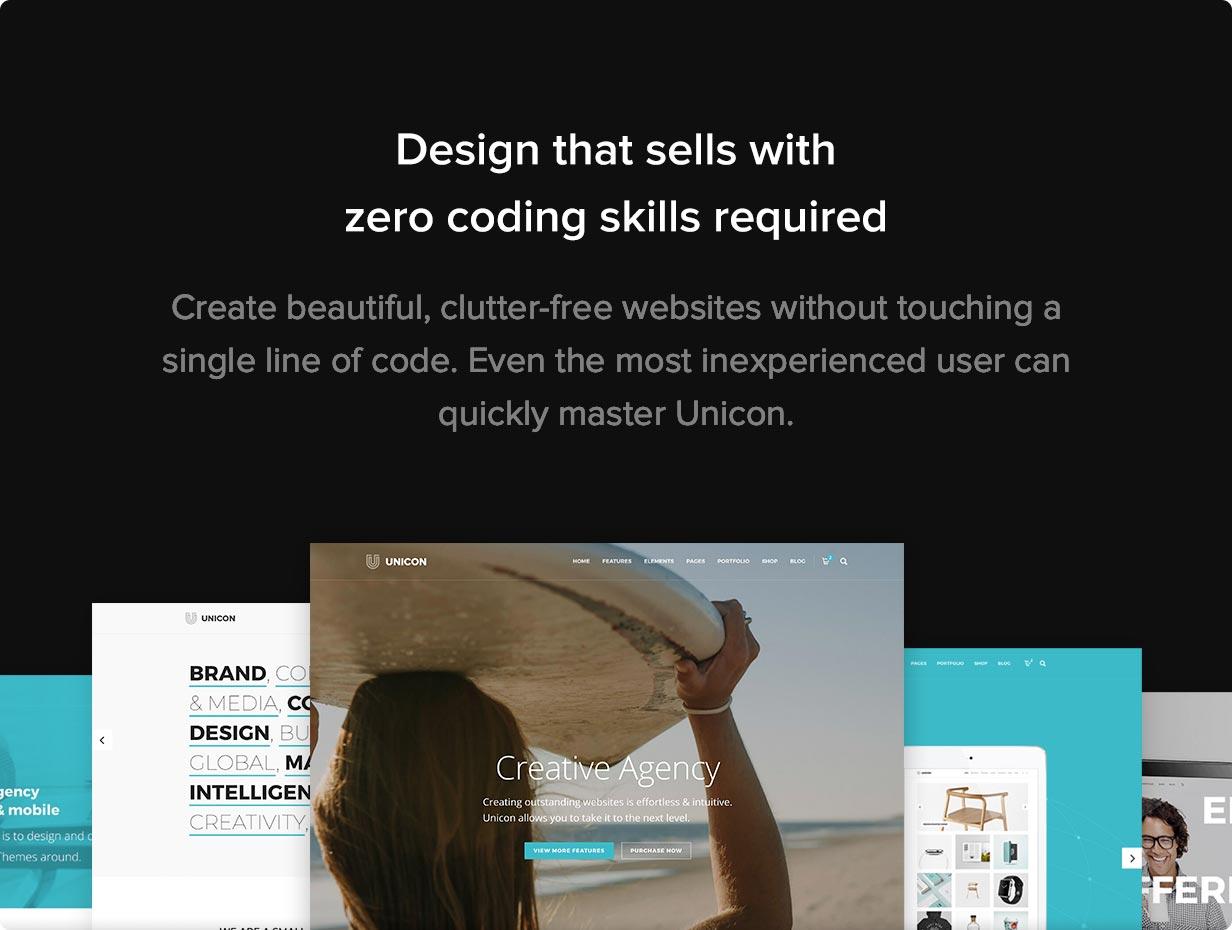 Unicon | Design-Driven Multipurpose Theme - 6