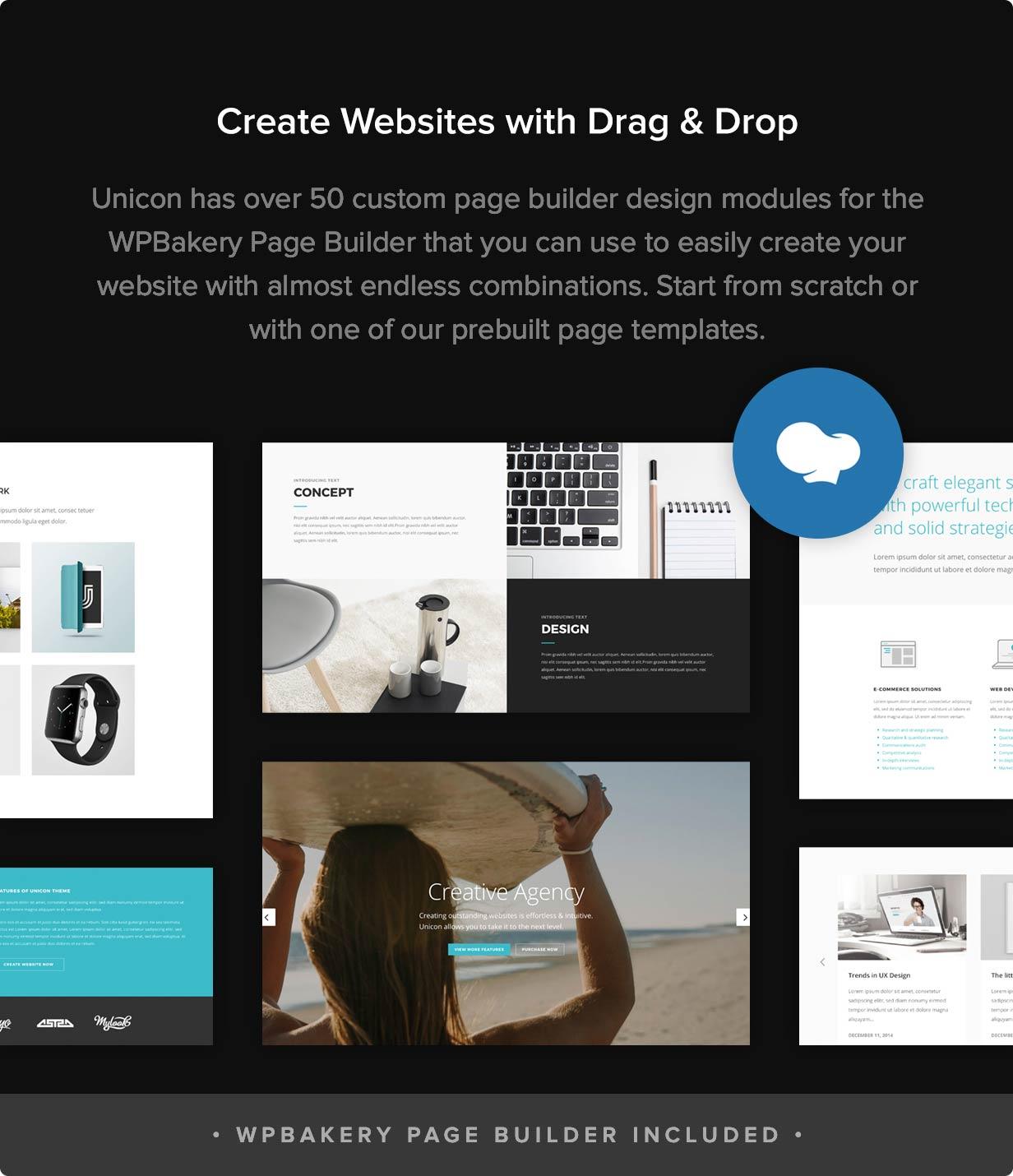 Unicon | Design-Driven Multipurpose Theme - 3
