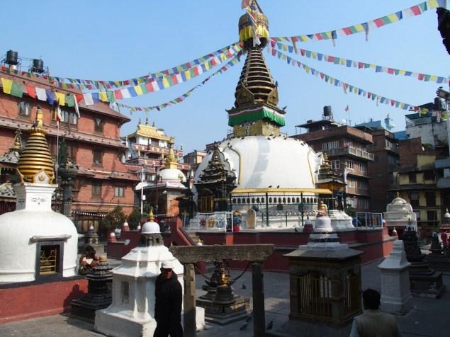 Kathesimbu stupa in Kathmandu