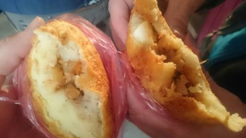 Papas rellenas - stuffed potatoes