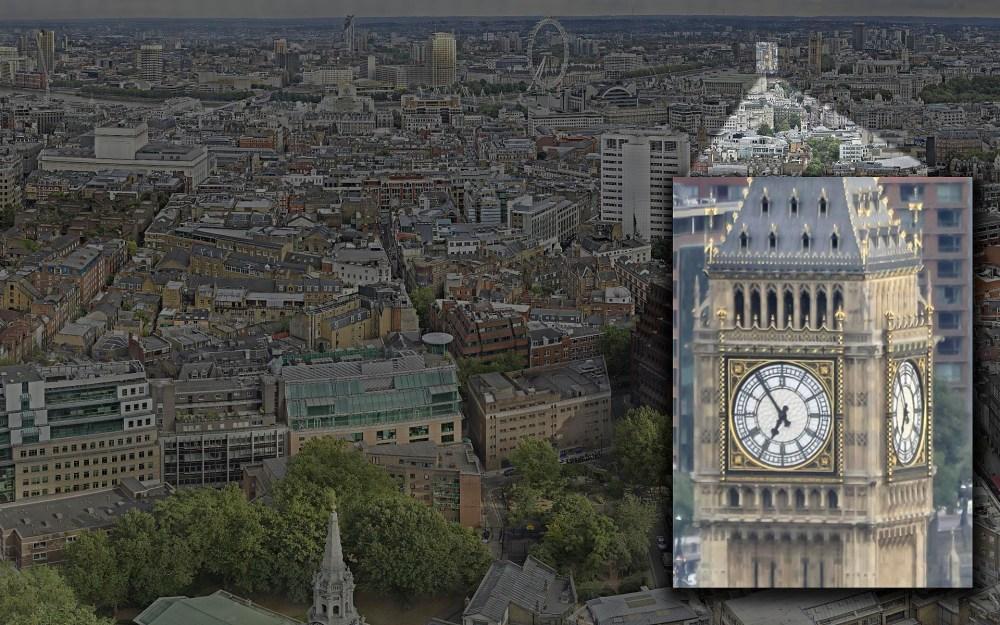Londres en 80 Gigapíxeles, la panorámica mas grande del mundo. (4/6)