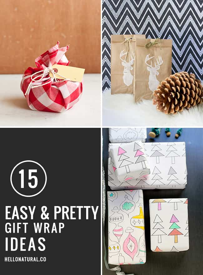 3 Easy Diy Storage Ideas For Small Kitchen: 15 Easy (and Pretty!) DIY Gift Wrap Ideas