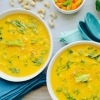 Golden Austrian Cauliflower Cream Soup Dr Fuhrman Eat to Live recipe pic