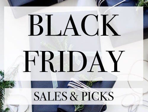 BLACK FRIDAY SALES AND PICKS