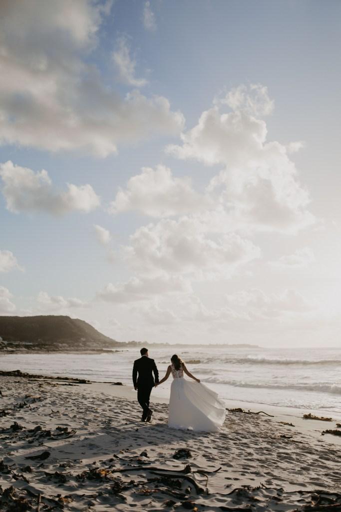 Beach Wedding Cape Town Light