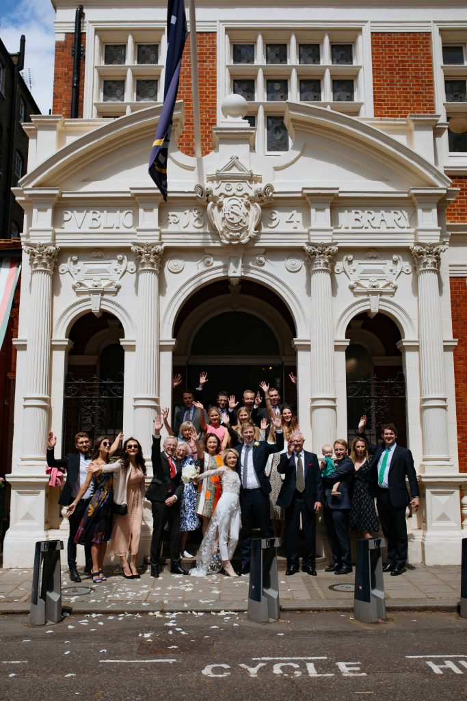 Mayfair Library Wedding London