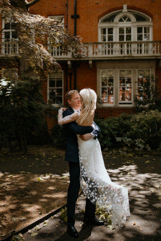 Spring Wedding London Rime Arodaky Bride