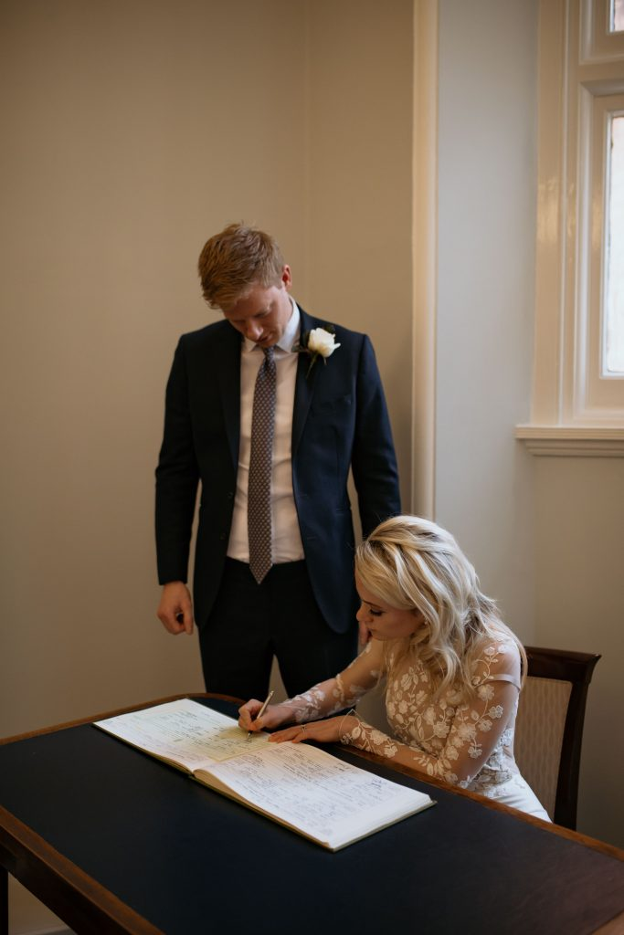 Mayfair Library Civil Wedding