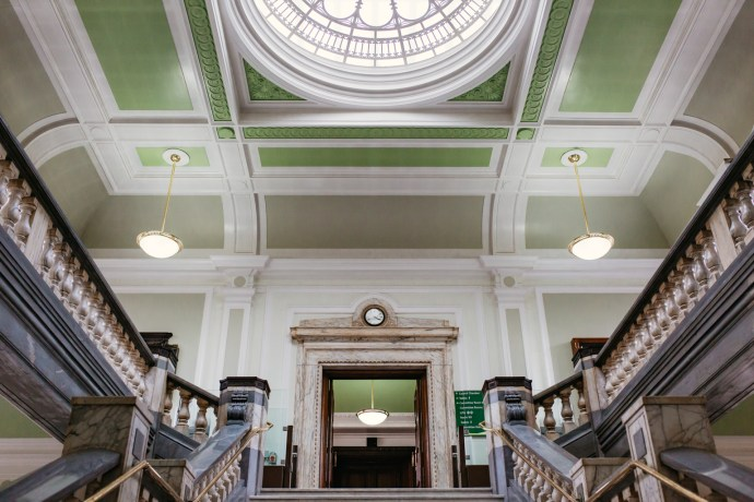 Interior of Islington Town Hall