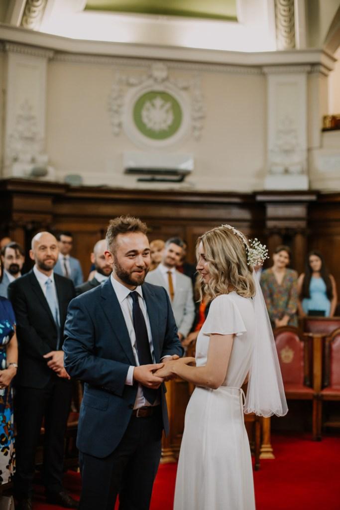 Islington Town Hall Wedding Mark Jessy