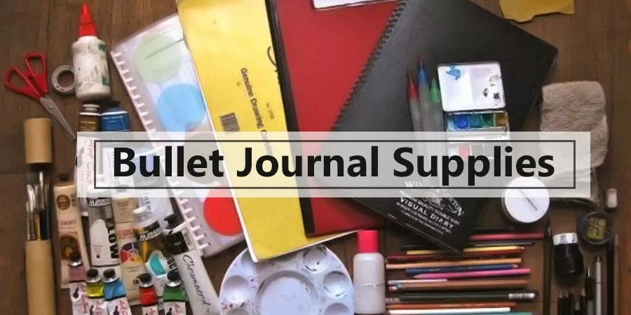 Bullet Journal Supplies