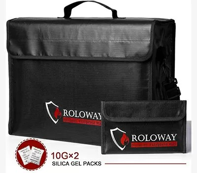 ROLOWAY Large Fireproof Bag