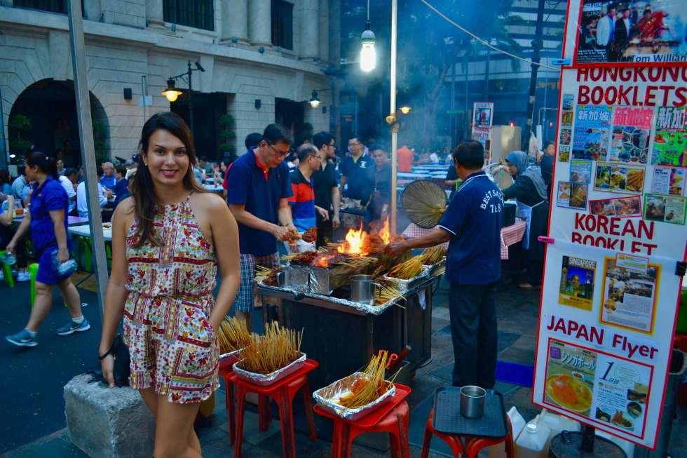 Satay in Singapore | About | Hello Raya Blog