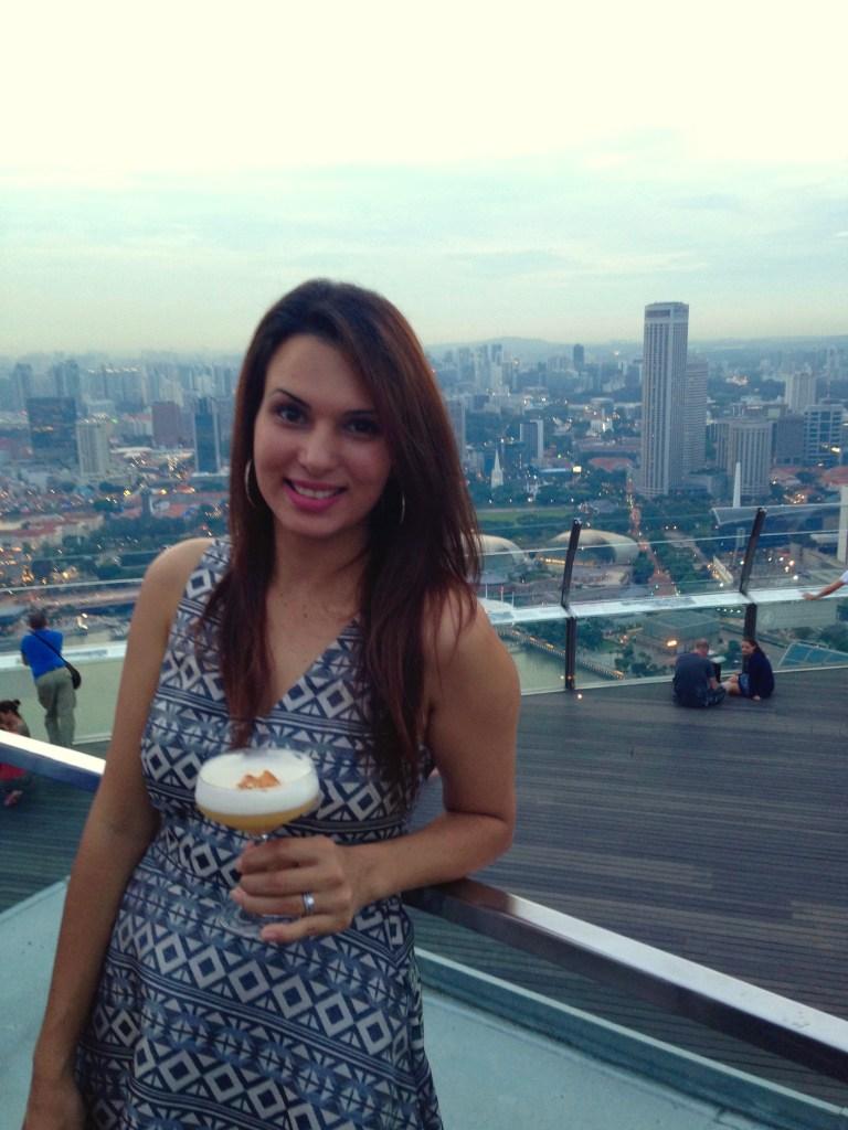 Sunset Drinks | Marina Bay Sands | Hello Raya Blog