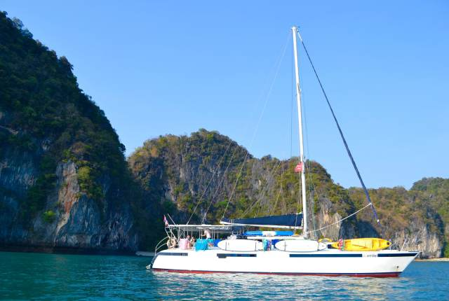 Catamaran Phuket | Sailing Holidays | Hello Raya Blog