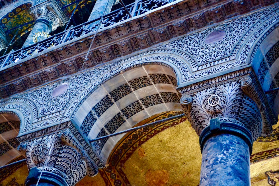 Pillars | Hagia Sophia | Hello Raya Blog