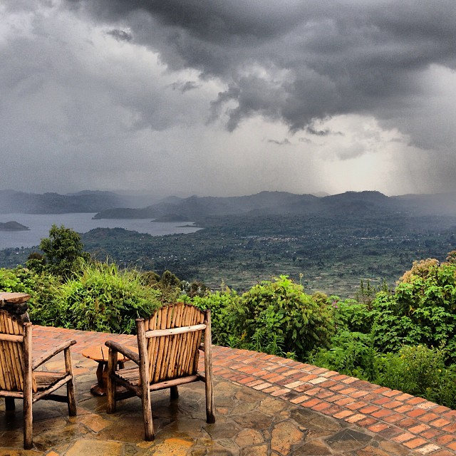 The view from Virunga Lodge | Travel Rwanda | Hello Raya Blog
