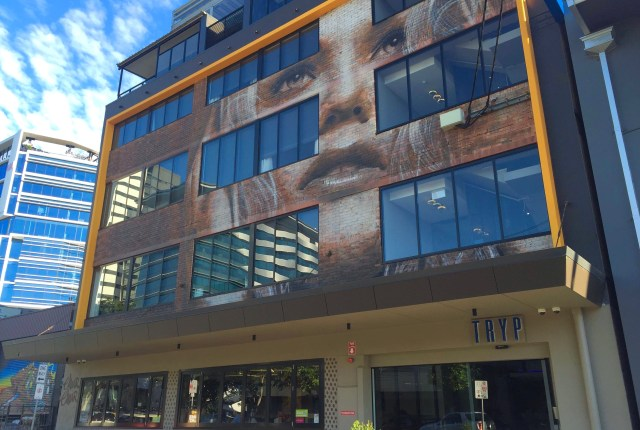 Entrance | Fintan Magee | TRYP Fortitude Valley, Brisbane Hotel | Hello Raya Blog