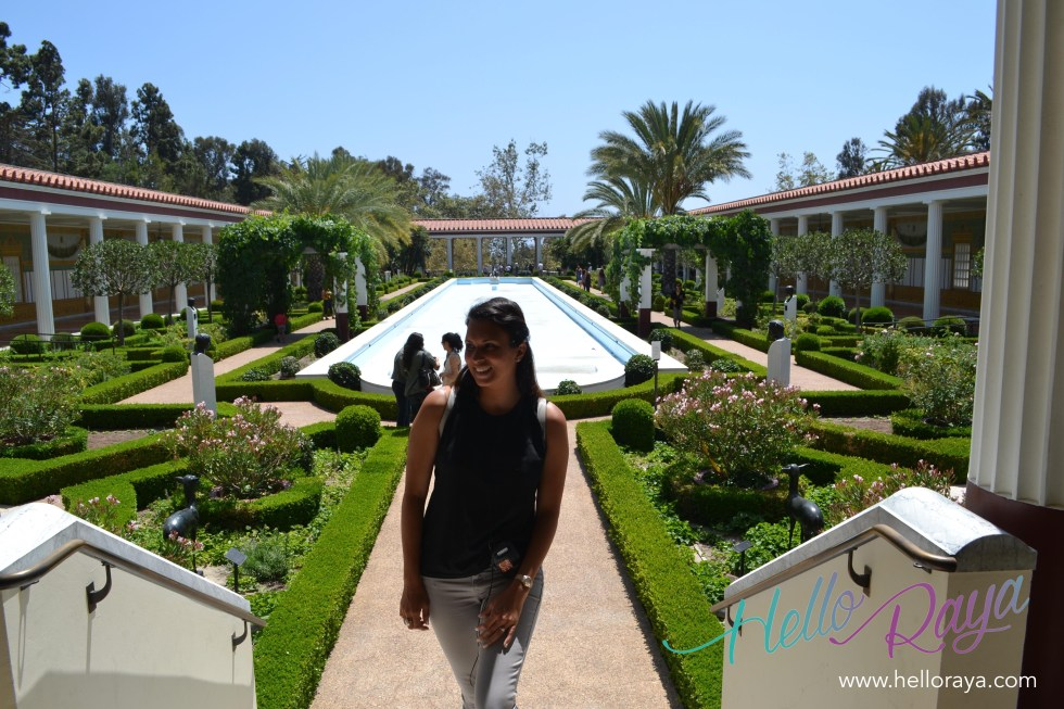 Getty Villa Malibu | Pacific Coast Highway Road Trip | Hello Raya Blog