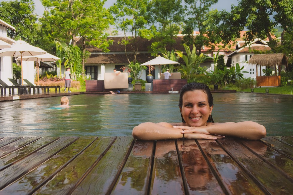 At the Pool | Sofitel Luang Prabang (Laos) | Hello Raya Blog