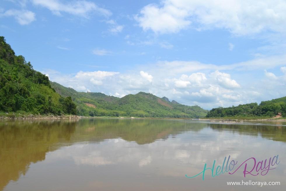 Cruising along the Mekong River | 13 Things to do in Luang Prabang | Hello Raya Blog