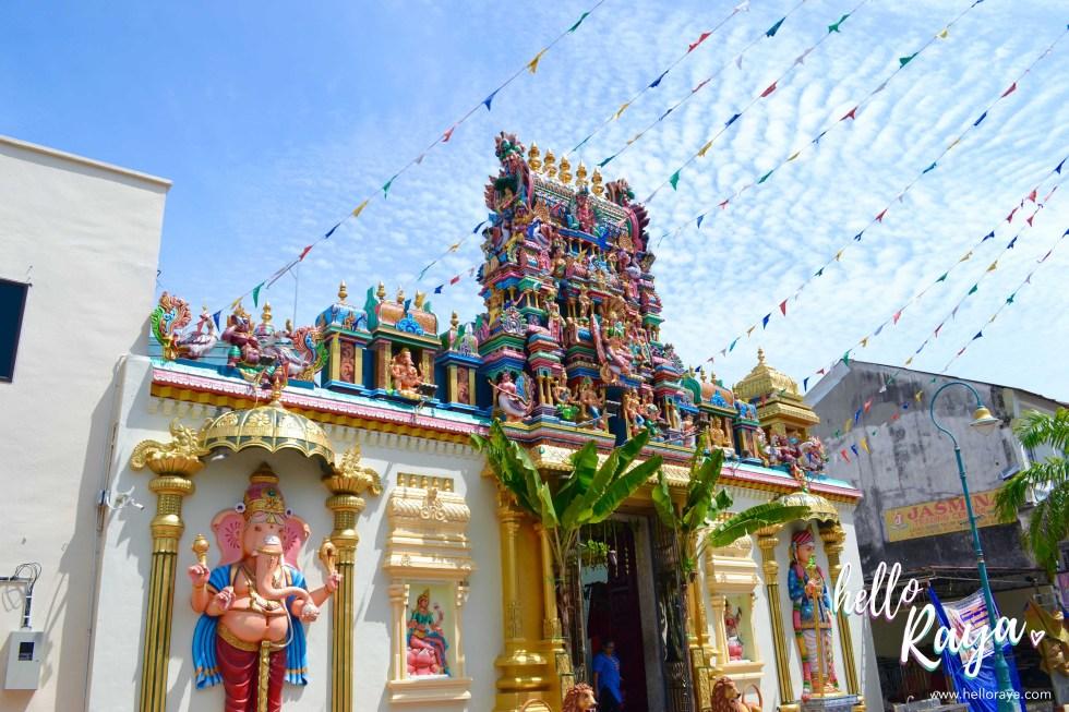 Seri Maha Mariamman Temple | 12 Things to do in Penang & Georgetown | Hello Raya Blog