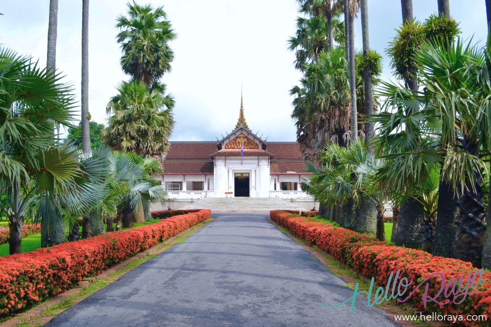 The National Museum (Royal Palace) | 13 Things to do in Luang Prabang | Hello Raya Blog