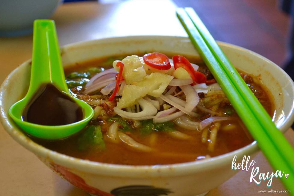 Penang Food Tour & Penang Food Guide - Penang Assam Laksa | Hello Raya Blog
