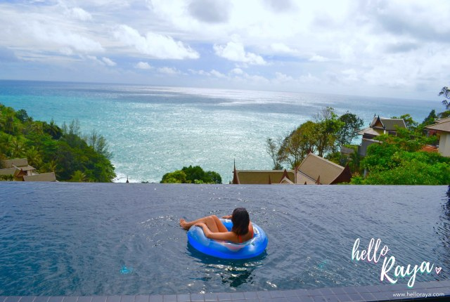 Our Private Pool | Ayara Kamala Resort | Hello Raya Blog