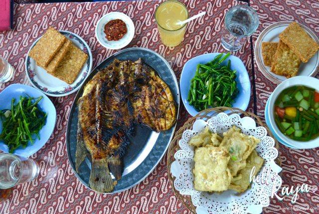 Ikan Bakar | Eating in Yogyakarta | Hello Raya Blog