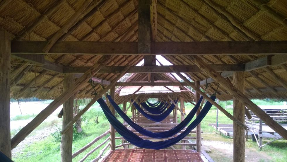 Lounging by the Nam Song river on hammocks | 10 Things to do in Vang Vieng | Hello Raya Blog