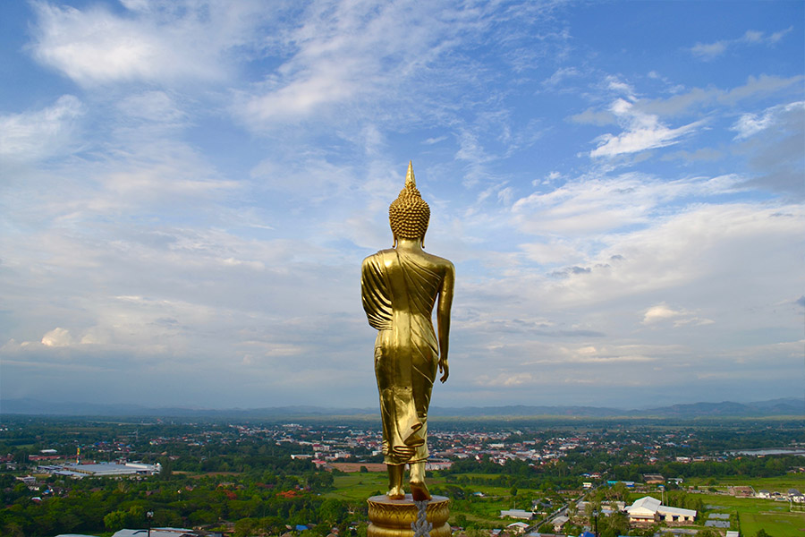 Blessing Buddha in Nan   Places to Visit in Thailand   Travel in Thailand   Hello Raya Blog