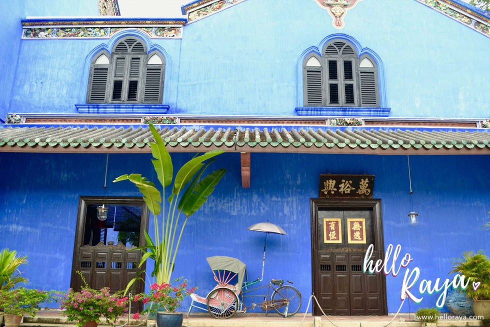 Southeast Asia Bucket List | Blue Mansion Georgetown Penang | Hello Raya Blog