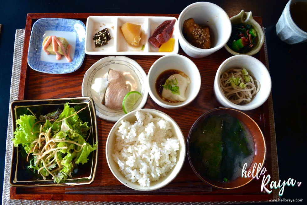 Watermark Hotel Jimbaran - Bali, Indonesia - Breakfast at the Japanese Restaurant - Hello Raya Blog