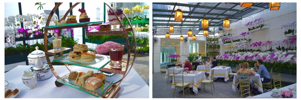 Instagrammable Cafe in Kuala Lumpur Malaysia - Afternoon Tea at Orchid Conservatory at the Majestic Hotel | Hello Raya Blog