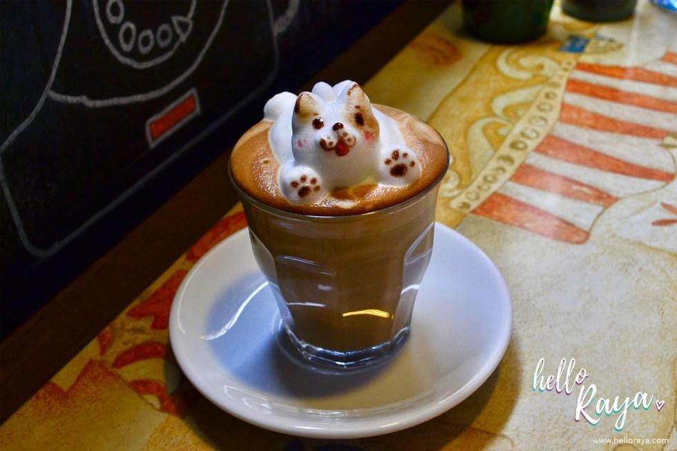 Instagrammable Cafe in Kuala Lumpur Malaysia - Coffee Amo 3D Art - Hello Raya Blog