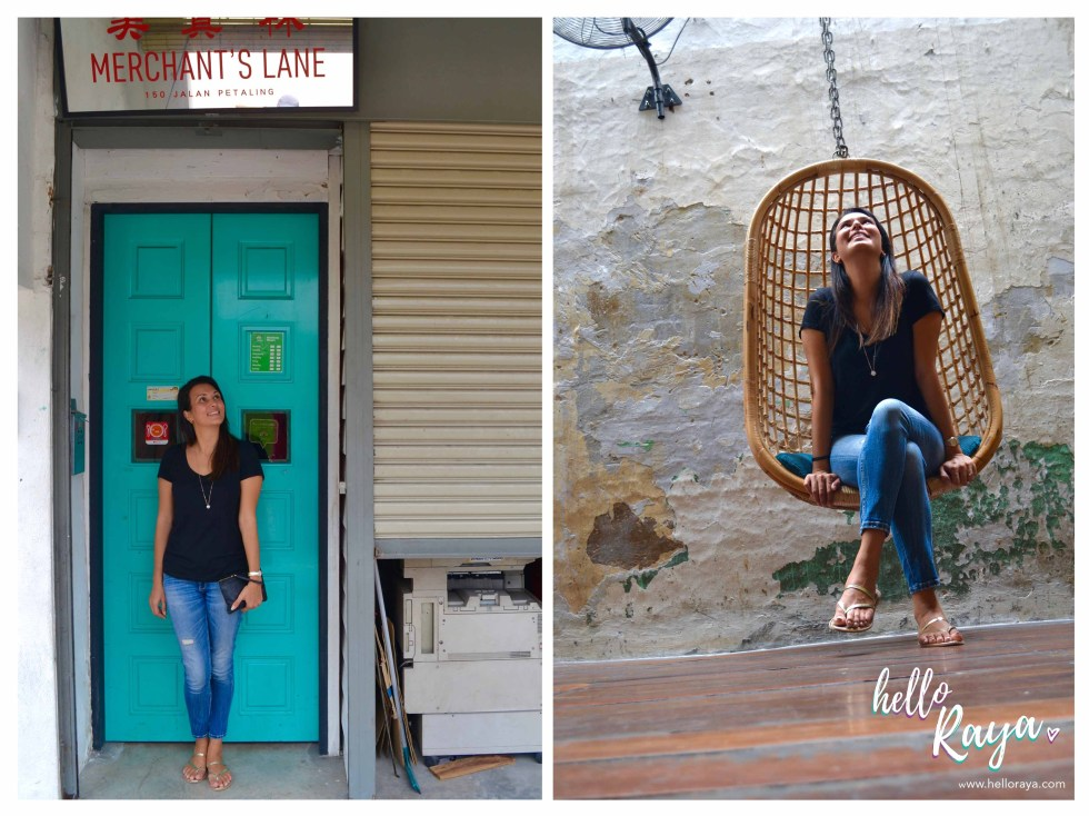 Instagrammable Cafe in Kuala Lumpur Malaysia - Merchant's Lane | Hello Raya Blog