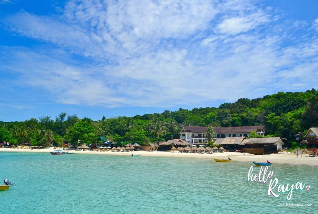 Staying at the Bubu Long Beach Resort at the Perhentian Islands - Hello Raya Blog