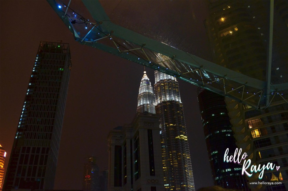Dinner in the Sky Malaysia - The KL Twin Towers