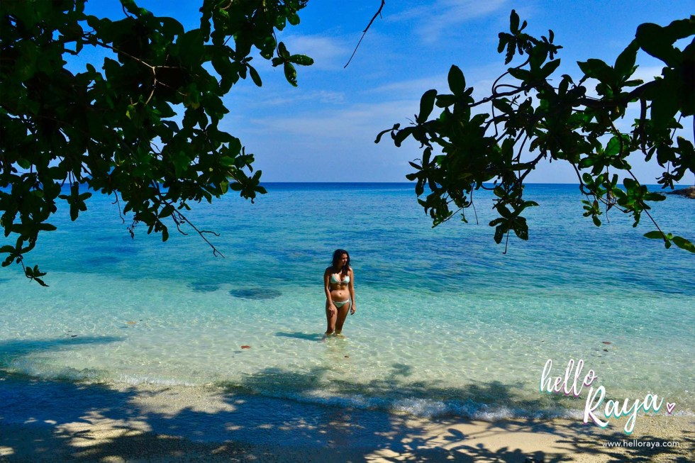 Travel Guide to Visiting the Perhentian Islands - Perhentian Kecil - Adam & Eve Beach - Hello Raya Blog
