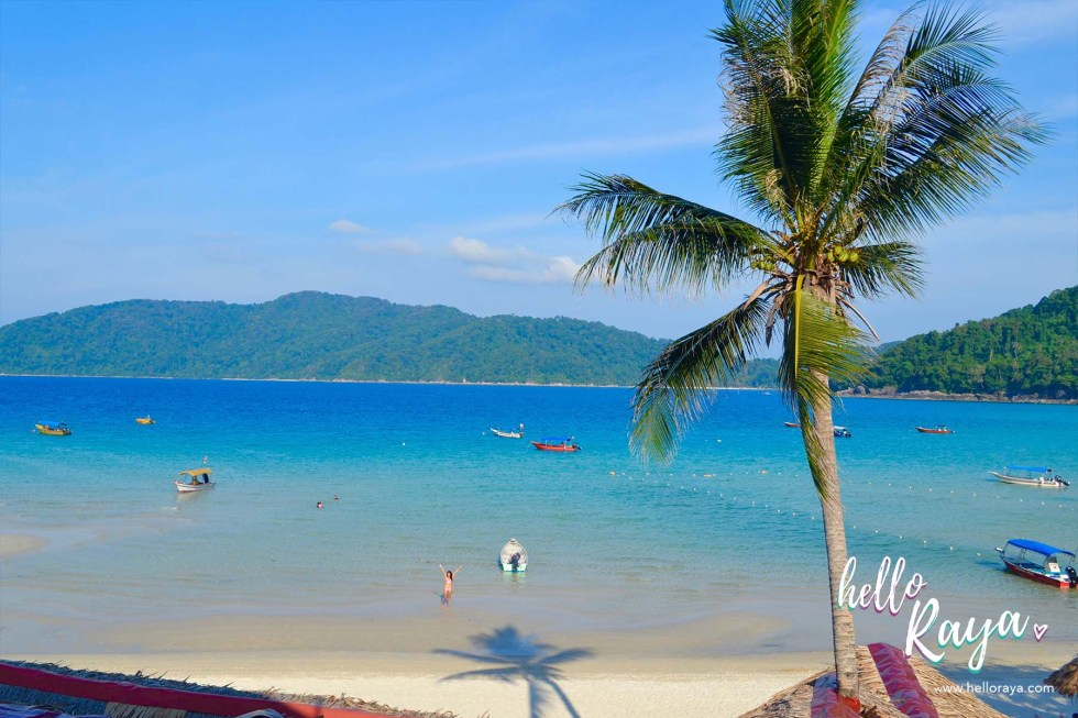 Travel Guide to Visiting the Perhentian Islands - Perhentian Kecil - View from Bubu Long Beach Resort - Hello Raya Blog