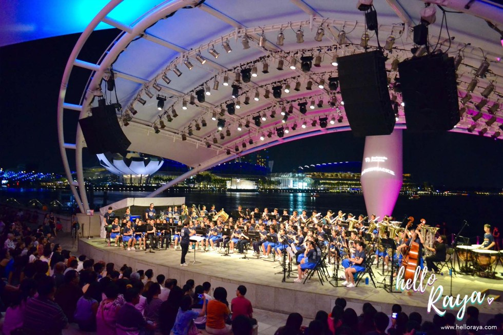 Singapore by Night - Esplanade Outdoor Theatre | Hello Raya Blog