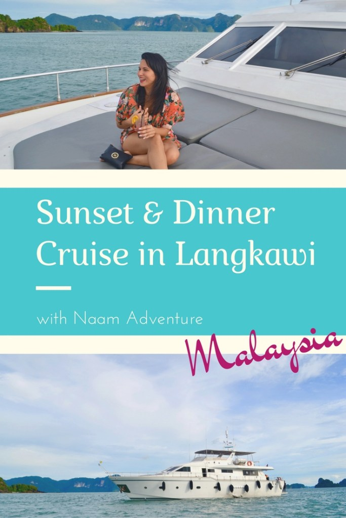 Sunset Cruise in Langkawi with Naam Adventure on-board the Blue Dolphin Boat | Hello Raya Blog