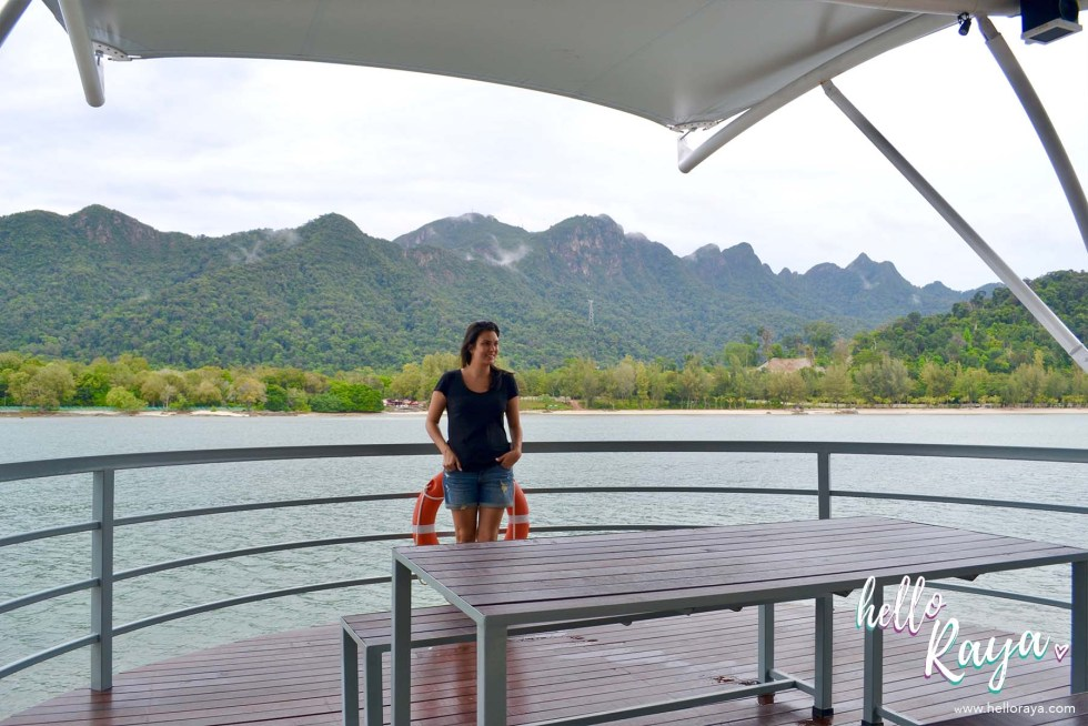Paradise 101 by Naam in Langkawi - Admiring the View